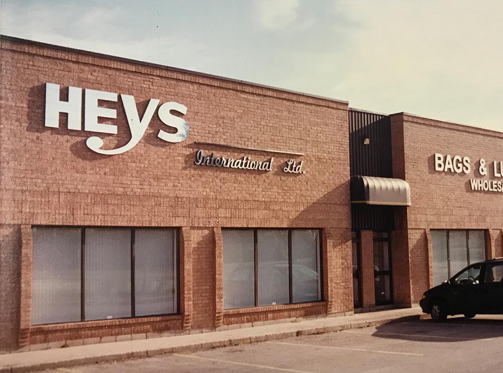 trụ sở heys những năm đầu