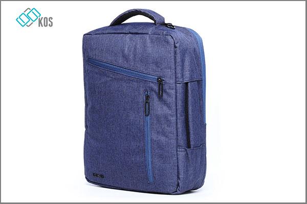 Balo laptop 14 inch AGVA màu xanh