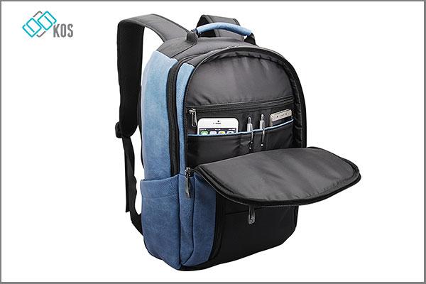 Balo laptop bestlife màu xanh đi du lịch cực bền bỉ