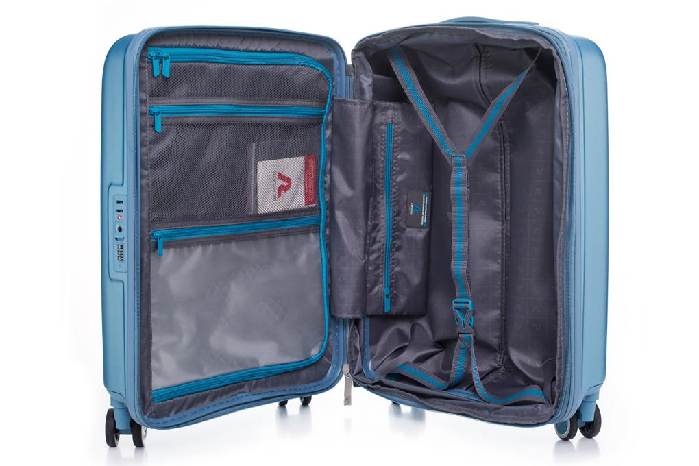 Thiết kế ngăn hộc bên trong vali