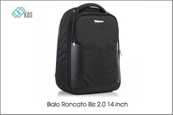 balo laptop roncato 14inch  mẫu nhỏ đẹp dành cho nữ