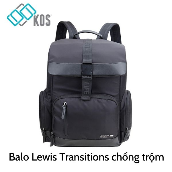 Balo Lewis Transitions chống trộm