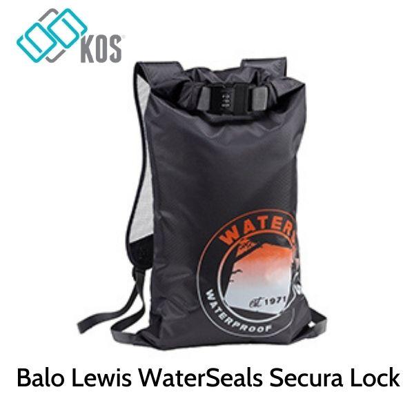 Balo Lewis WaterSeals Secura Lock - Grey