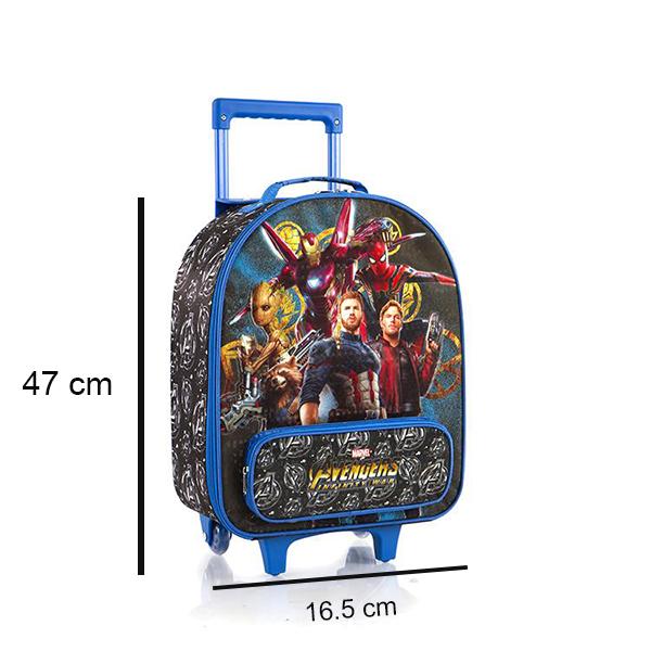 Kích cỡ của vali trẻ em