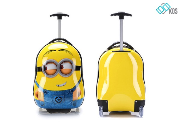 Sử dụng và bảo quản vali kéo trẻ em đúng cách