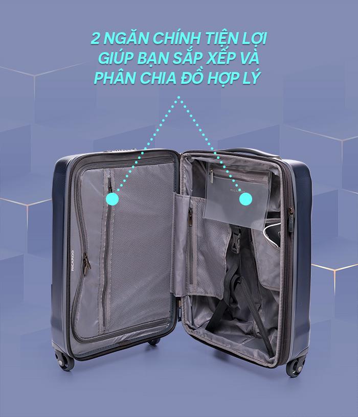 tiện ích vali kéo ricardo