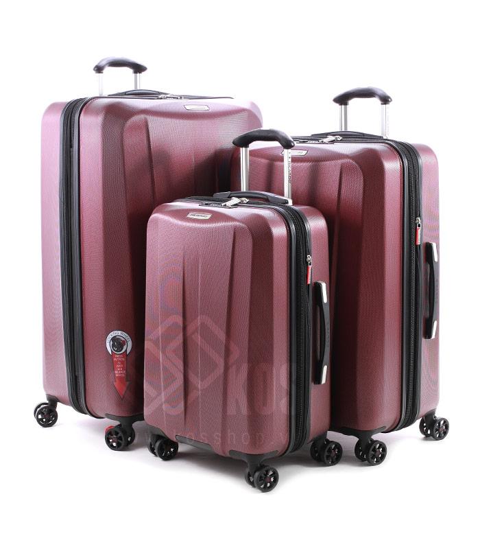 Vali kéo có cổng sạc đa dạng kích thước cho người sử dụng