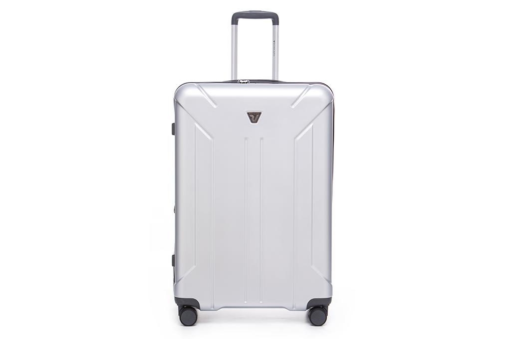 vali kéo nhựa màu trắng Roncato