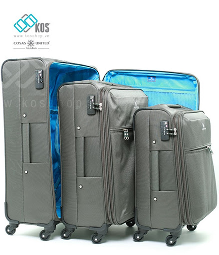 Vali kéo vải chính hãng đa dạng kích thước phù hợp với người sử dụng
